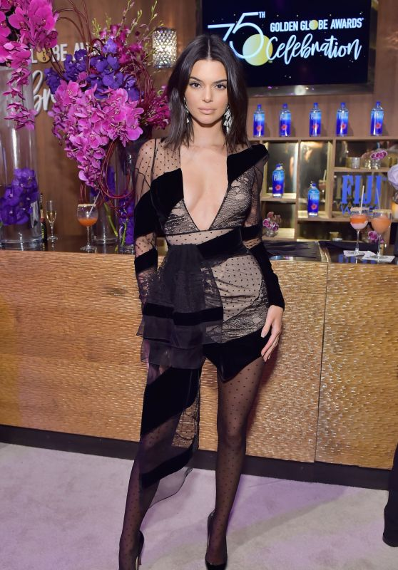 Kendall Jenner - Official Viewing and After Party of The Golden Globe Awards 2018