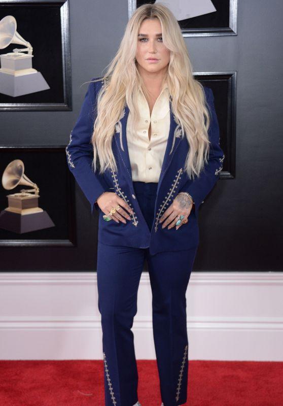 Kesha – 2018 Grammy Awards in New York