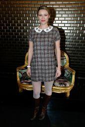 Kiera Chaplin – Jean-Paul Gaultier Fashion Show in Paris 01/24/2018