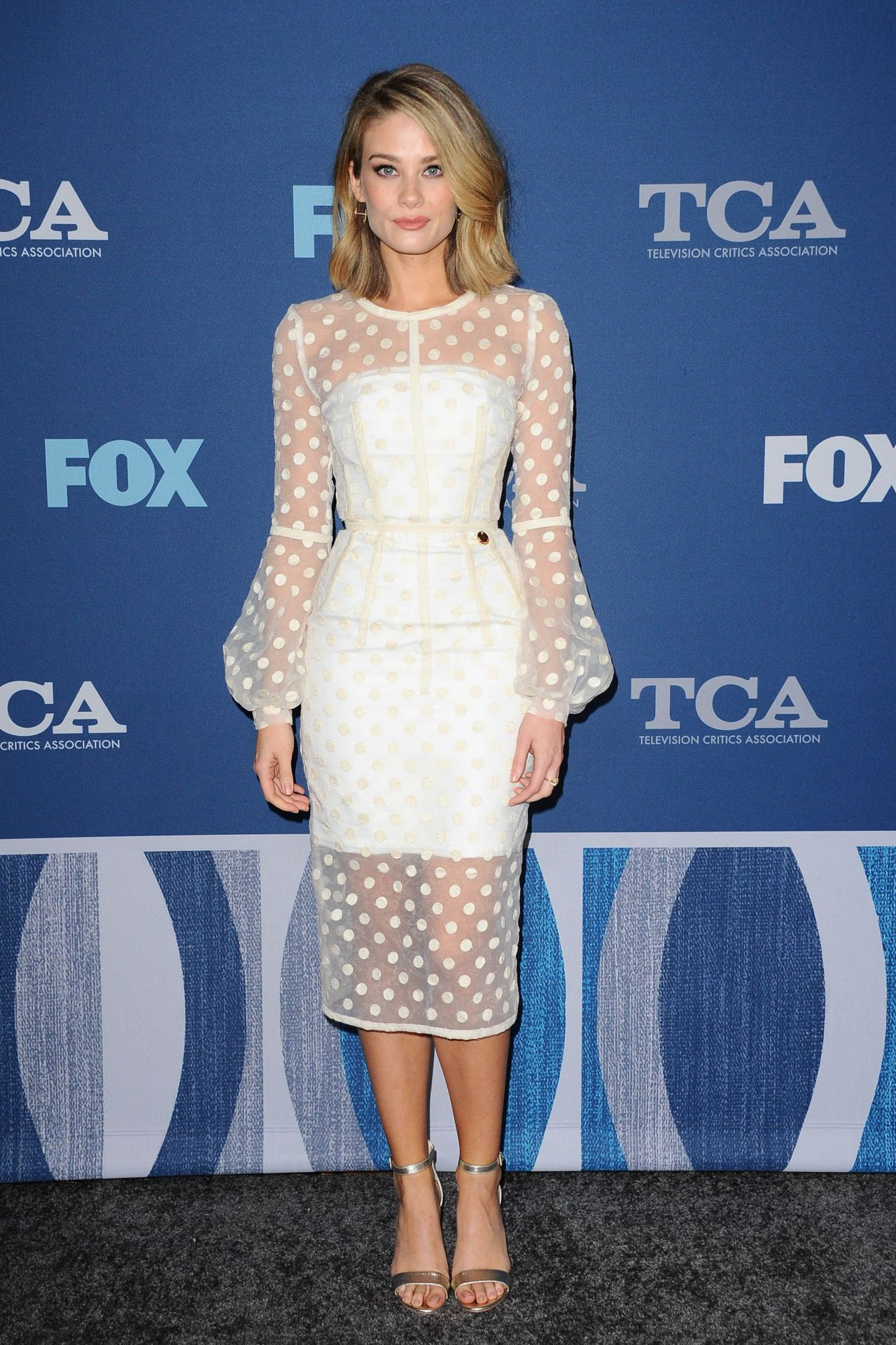 Kim Matula Fox Winter Tca 2018 All Star Party In Pasadena