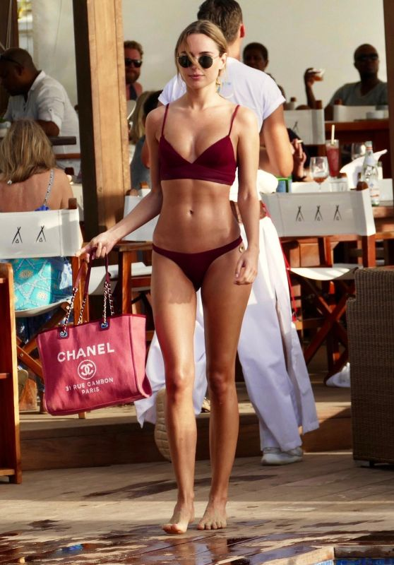 Kimberley Garner in Bikini on Sunshine Break in Barbados