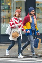 Kit Harington With Fiance Rose Leslie Out in New York City