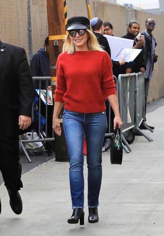 Kristen Bell Arriving to Appear on Jimmy Kimmel Live! in LA 01/16/2018