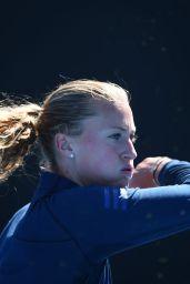 Kristina Mladenovic - Practice at the 2018 Australian Open in Melbourne