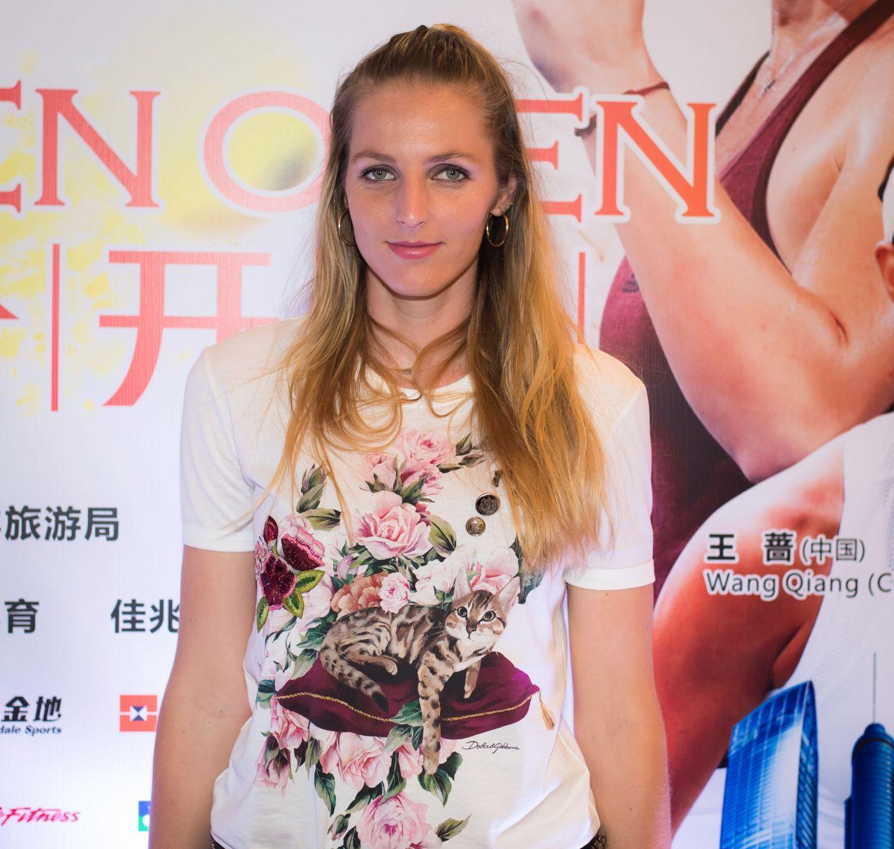Kristyna Pliskova – Players Party of the 2018 Shenzen Open WTA International Open