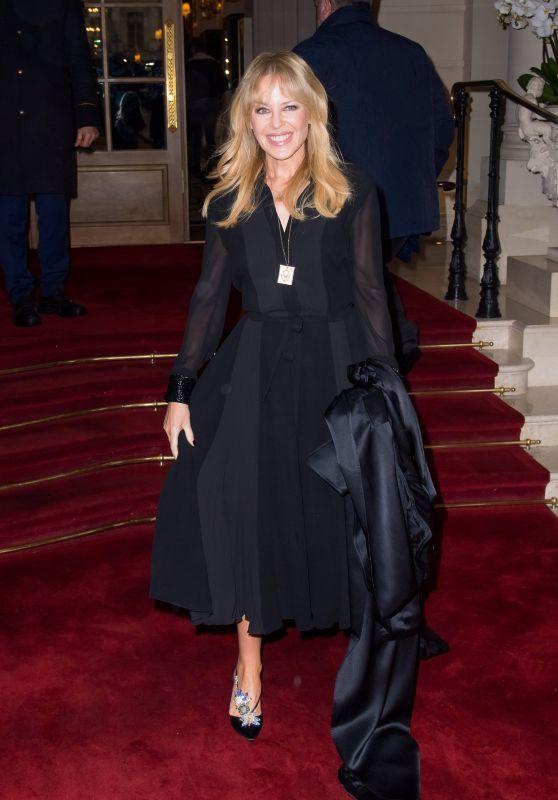 Kylie Minogue - The Schiaparelli Haute Couture SpringSummer 2018 Show at the Paris Fashion Week