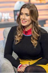 Kym Marsh - Lorraine TV Show in London 01/30/2018