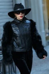 Lady Gaga - Arrives in Milan for Live Tour