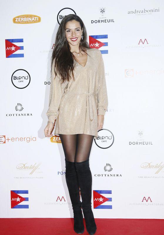 Laura Barriales at Alessandro Martorana 2018 Party in Milan