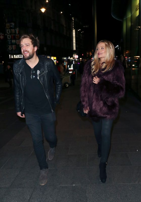 Laura Whitmore – Leaving Davina McCall's Birthday Party in London