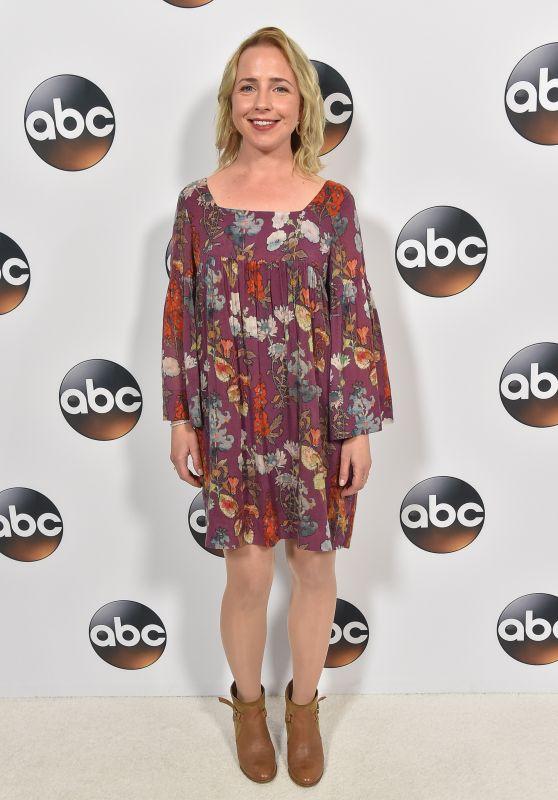 Lecy Goranson – ABC All-Star Party in LA