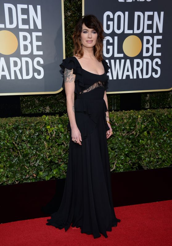 Lena Headey – Golden Globe Awards 2018 in Beverly Hills