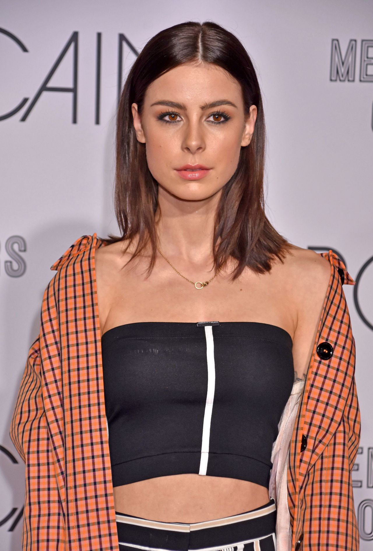 lena meyer landrut marc cain fashion show in berlin 01 16 2018. Black Bedroom Furniture Sets. Home Design Ideas