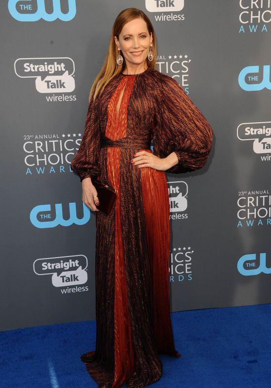 Leslie Mann – 2018 Critics' Choice Awards
