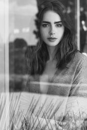 Lily Collins - Photographed for Grazia UK 2018