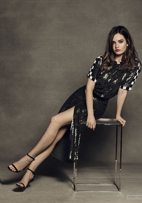 Lily James - Baby Driver Promoshoot 2017 Part II