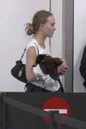 Lily-Rose Depp at LAX Airport in Los Angeles 01/24/2018