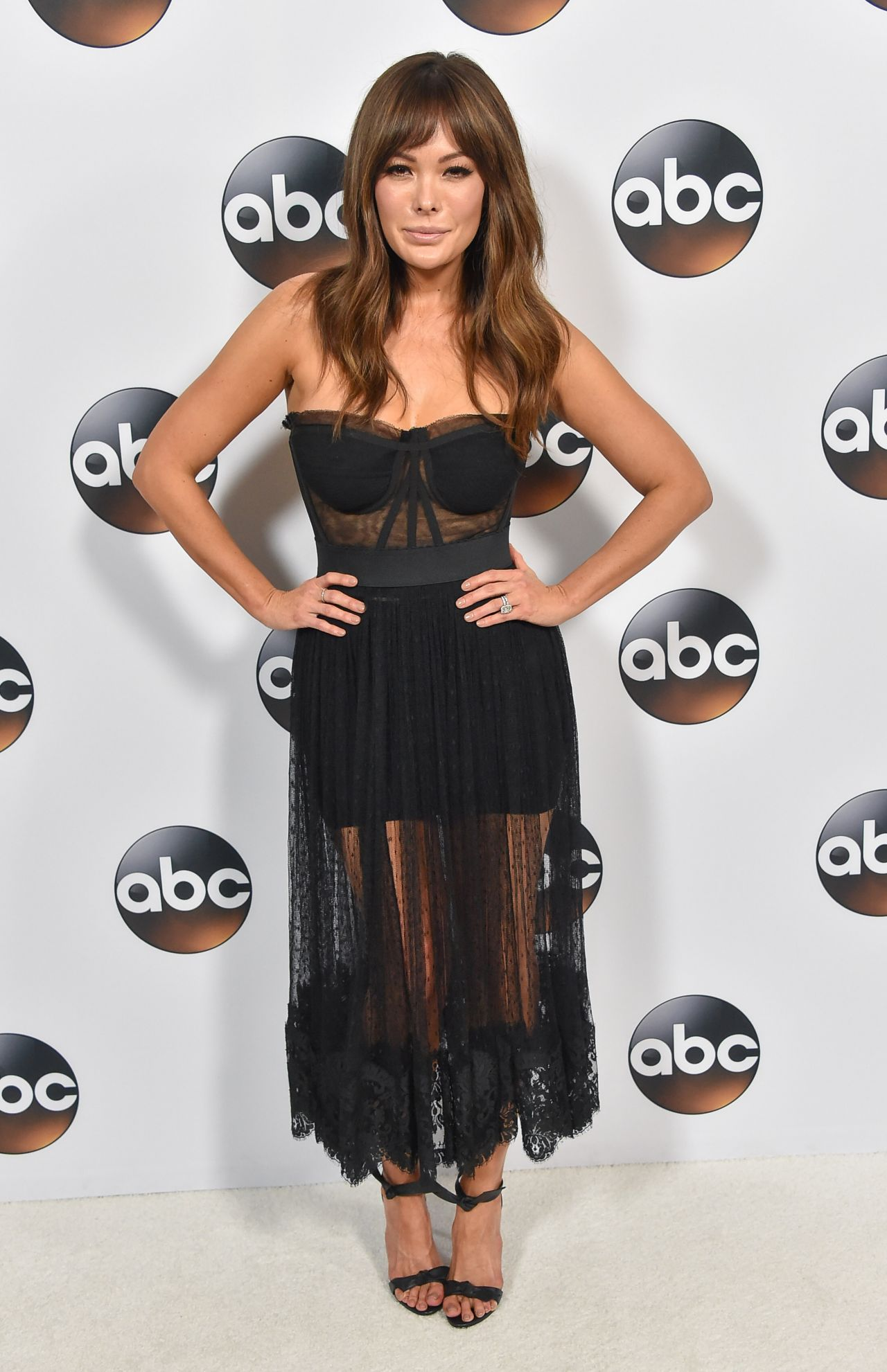 Lindsay Price Abc All Star Party In La