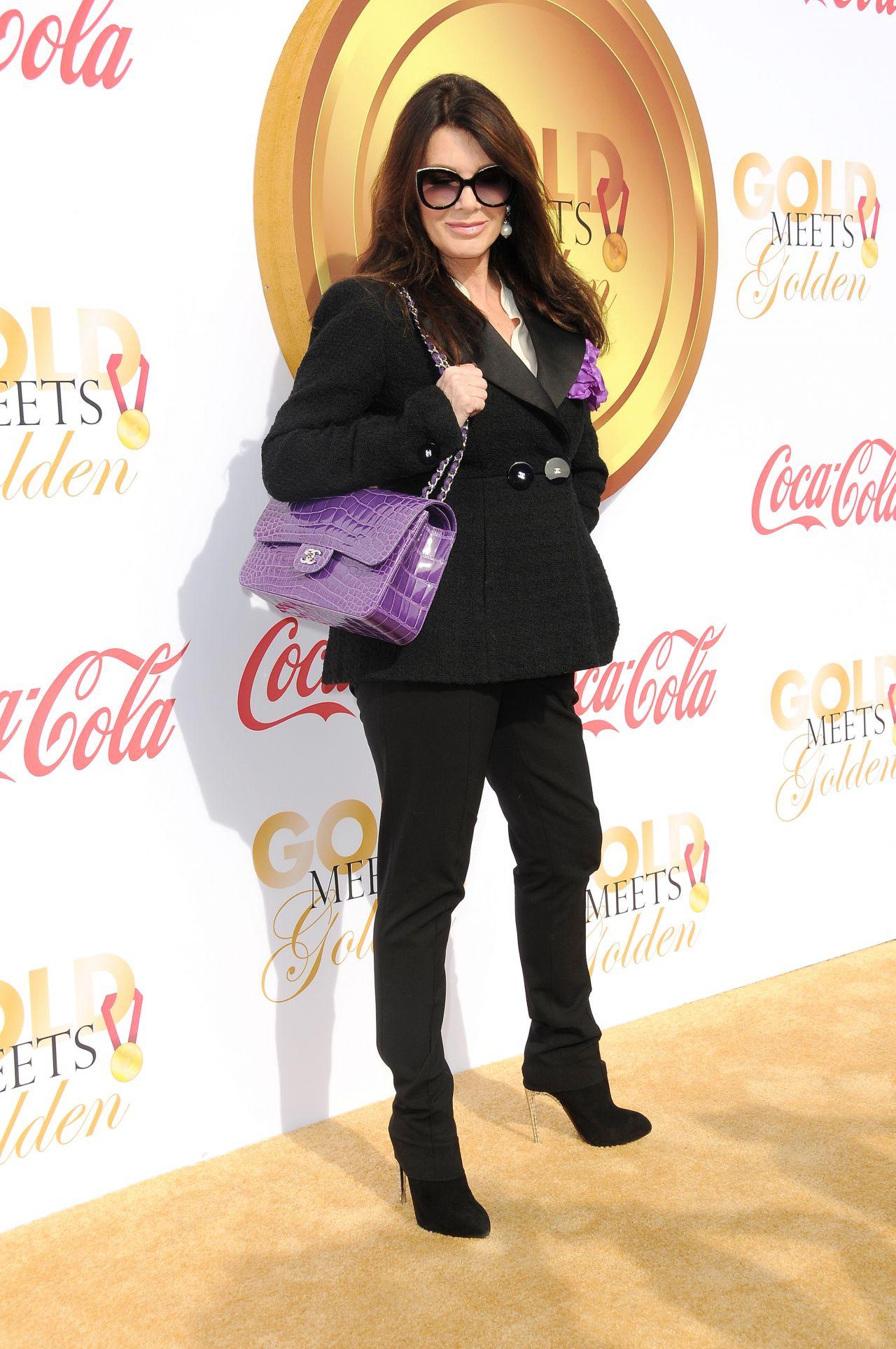 Lisa Vanderpump Gold Meets Golden Awards In Los Angeles
