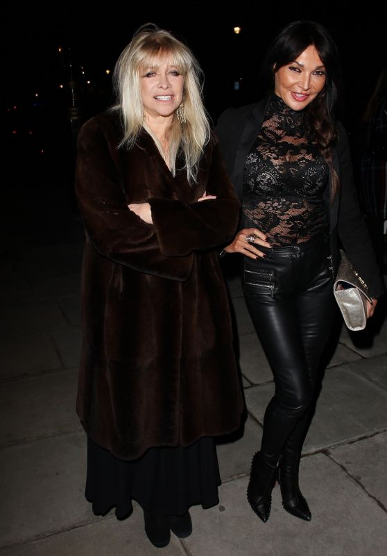 Lizzie Cundy and Jo Wood - #Megsmenopause Launch Party in London