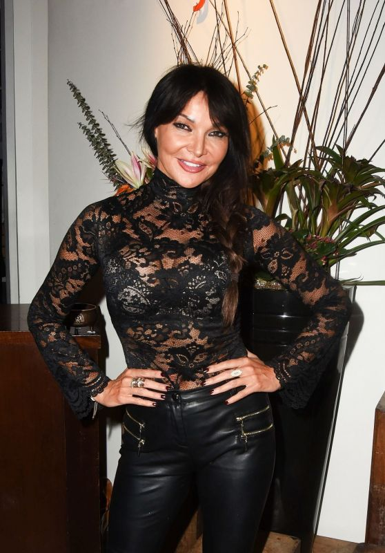 Lizzie Cundy - Hosts the Reopening of The Mango Tree in London