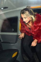 Lottie Moss - Leaving Mahiki Club in London