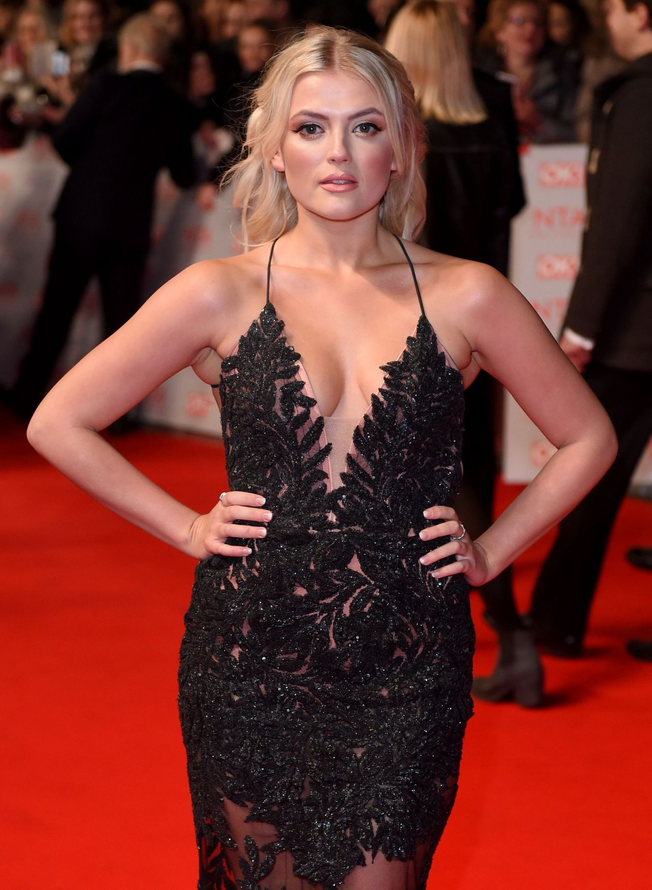 Lucy Fallon 2018 National Television Awards In London