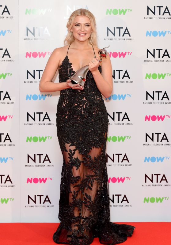 Lucy Fallon – 2018 National Television Awards in London
