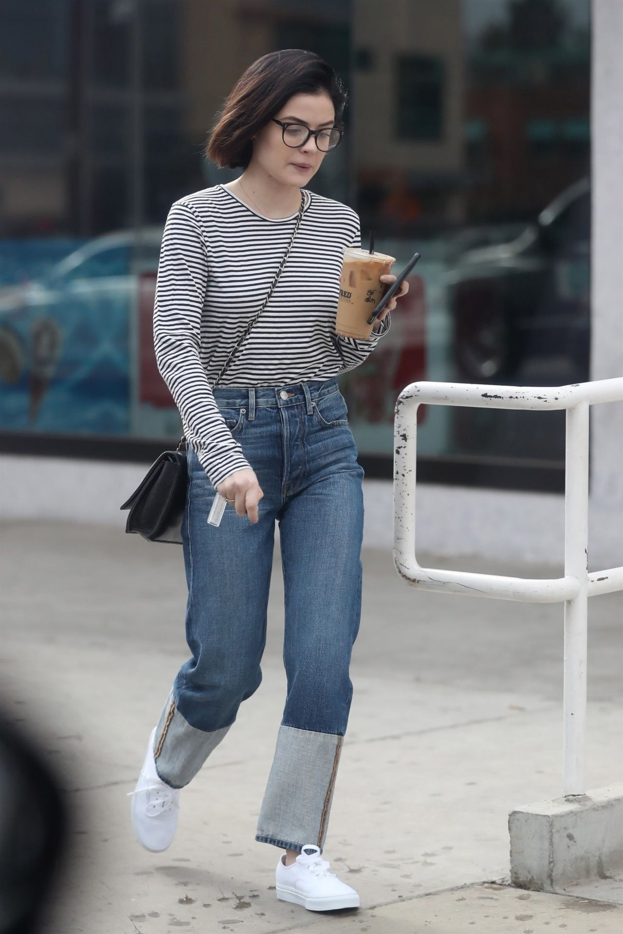 Lucy Hale Street Style West Hollywood 01 23 2018