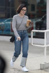 Lucy Hale Street Style - West Hollywood 01/23/2018
