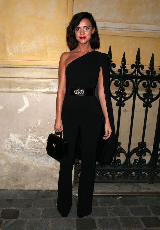 Lucy Mecklenburgh at Gun Pei Fashion Show in Paris 01/24/2018