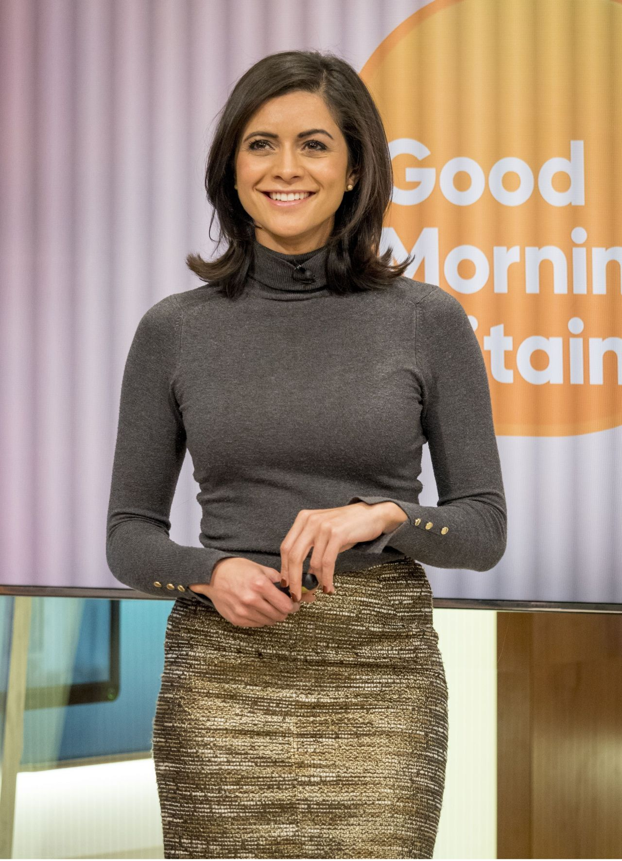 Lucy Verasamy Good Morning Britain Tv Show In London