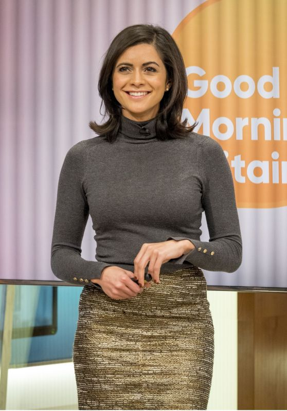 Lucy Verasamy - Good Morning Britain TV Show in London