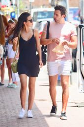 Lucy Watson and James Dunmore at Bondi in Syndey
