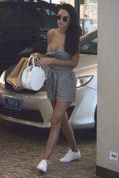 Lucy Watson Arrives Back at Her Hotel in Sydney, January 2018