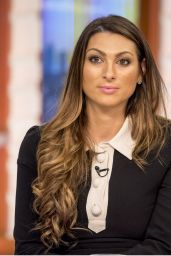 Luisa Zissman - Good Morning Britain TV Show in London