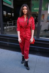 Luna Blaise Boyd - Leaves BUILD Series Studio in NYC