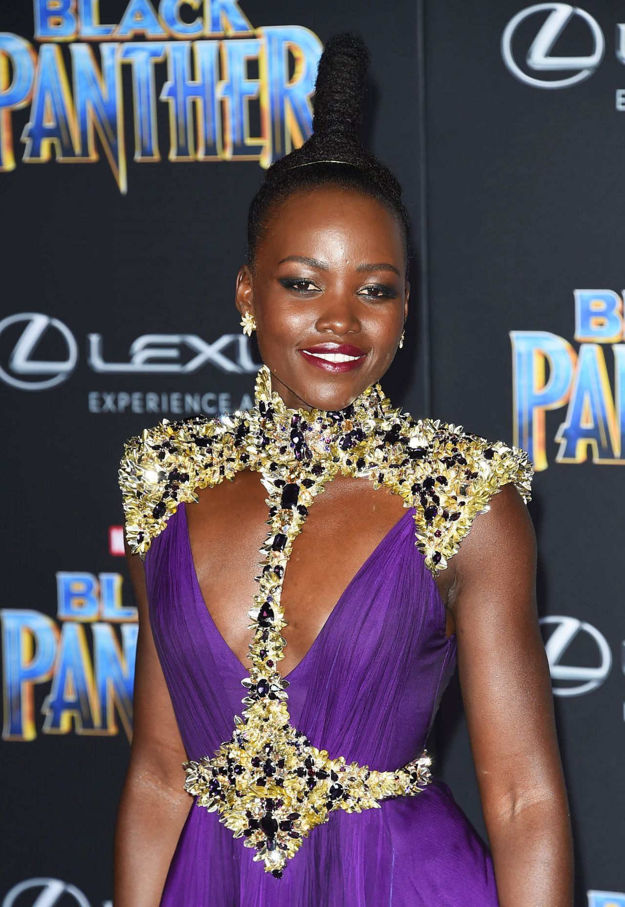 Lupita Nyong O Black Panther Premiere In Hollywood