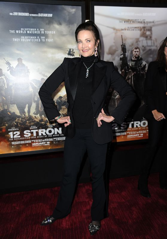 "Lynda Carter - ""12 Strong"" Premiere in NYC"