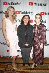 Maddie Hasson - YouTube Portion of the 2018 Winter Television Critics Association Press Tour in Pasadena