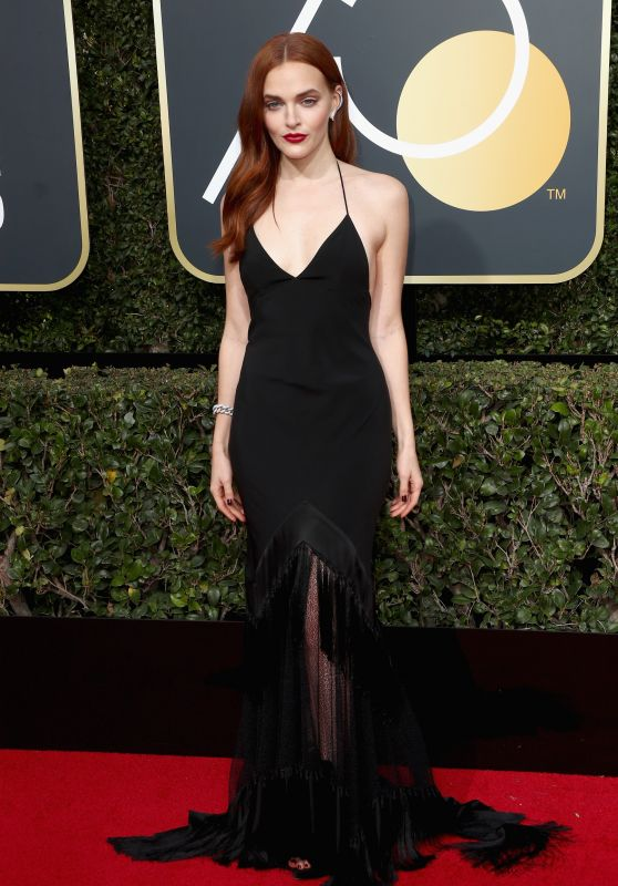 Madeline Brewer – Golden Globe Awards 2018 in Beverly Hills