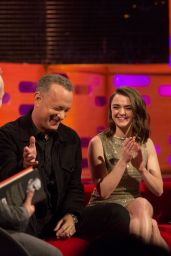 Maisie Williams at Graham Norton Show in London