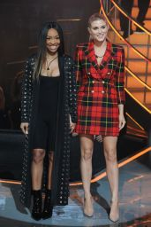 Malika Haqq and Ashley James - Celebrity Big Brother TV Show, Series 21