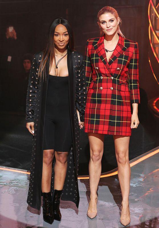 Malika Haqq and Ashley James - Celebrity Big Brother TV Show, Series 21