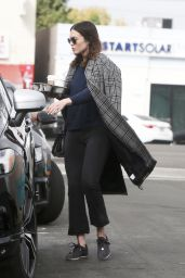 Mandy Moore in Casual Outfit - Los Angeles 01/19/2018