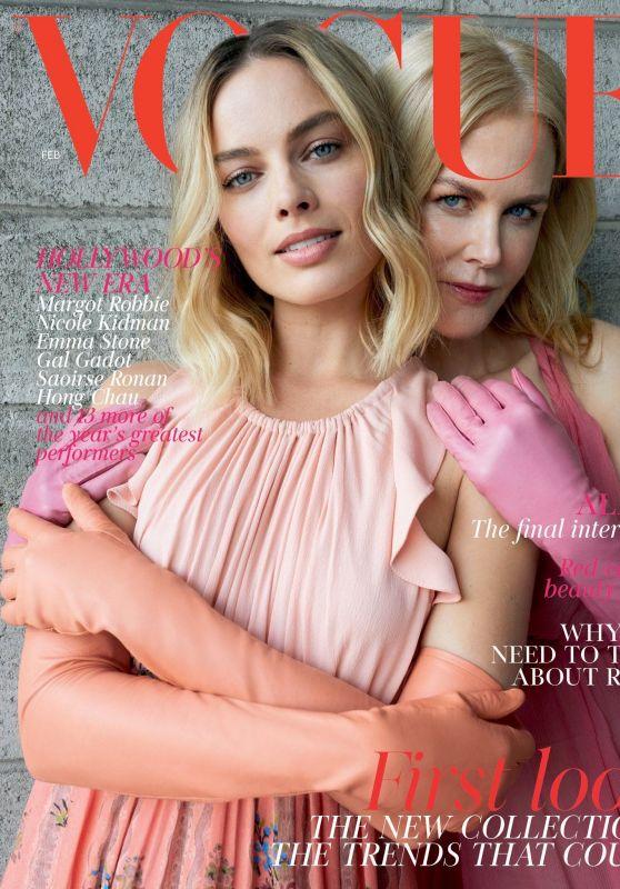 Margot Robbie and Nicole Kidman - Vogue UK February 2018