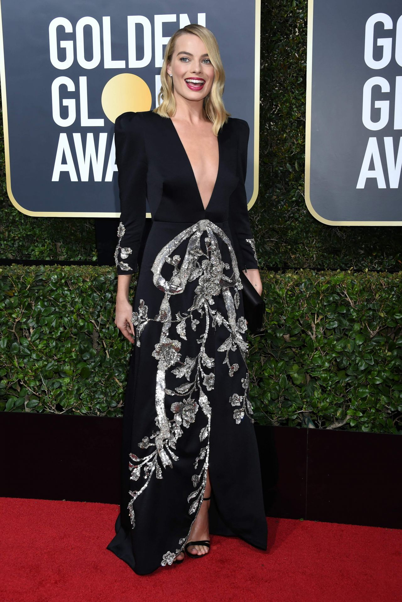 Margot Robbie Golden Globe Awards 2018