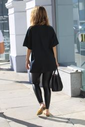 Maria Menounos - Shopping in a Dolly Parton T-Shirt in Beverly Hills