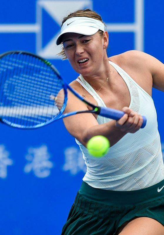 Maria Sharapova – 2018 Shenzen WTA International Open in Shenzen