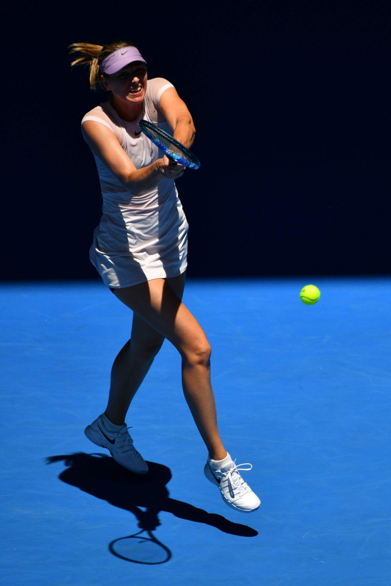 Maria Sharapova Australian Open 01 16 2018